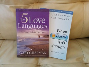 the five love languages and when sorry isn't enough